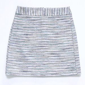 LOFT Women's Speckled Tweed Work Skirt 2